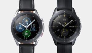 Samsung Galaxy Watch and Galaxy Watch 3