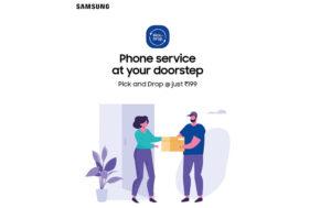 Samsung Pick and Drop Repair Service