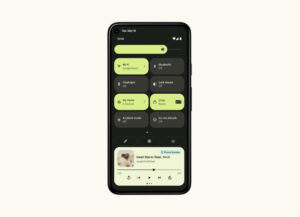 Android 12 Notification Panel