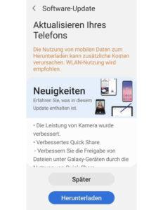 Samsung Galaxy Note 10 May 2021 Update